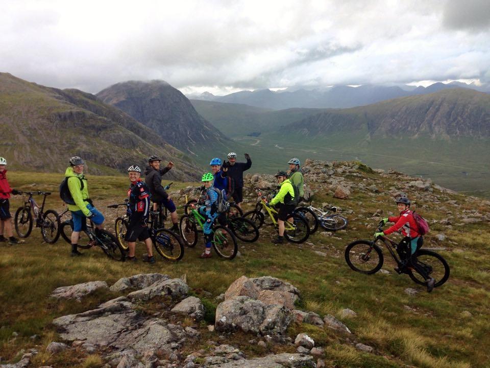 Scotland mountain biking experience at Glencoe Mountain Resort