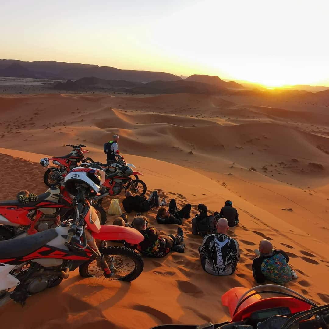 7 day Morocco off-road motorbiking Sahara Desert tour