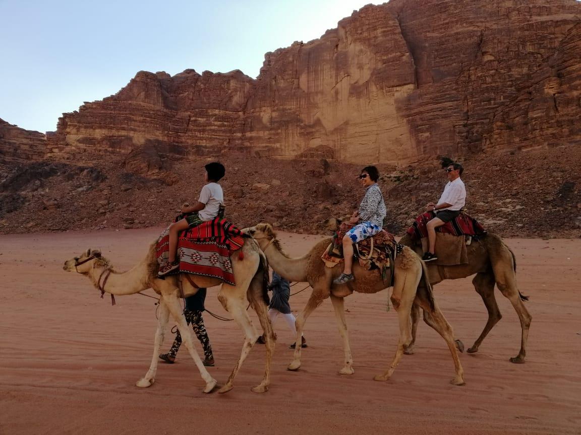 Jordan multi activity holiday to Petra and Wadi Rum camel trek
