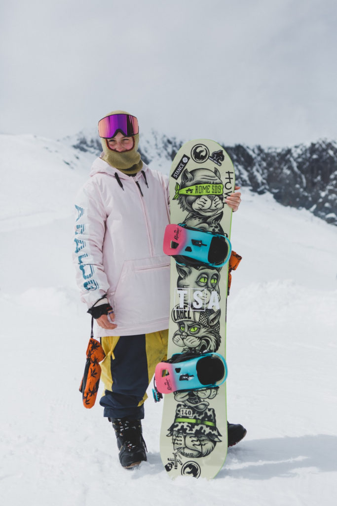 Ellie Soutter Foundation supporting Mia Brookes Improving mental health of snow sports athletes