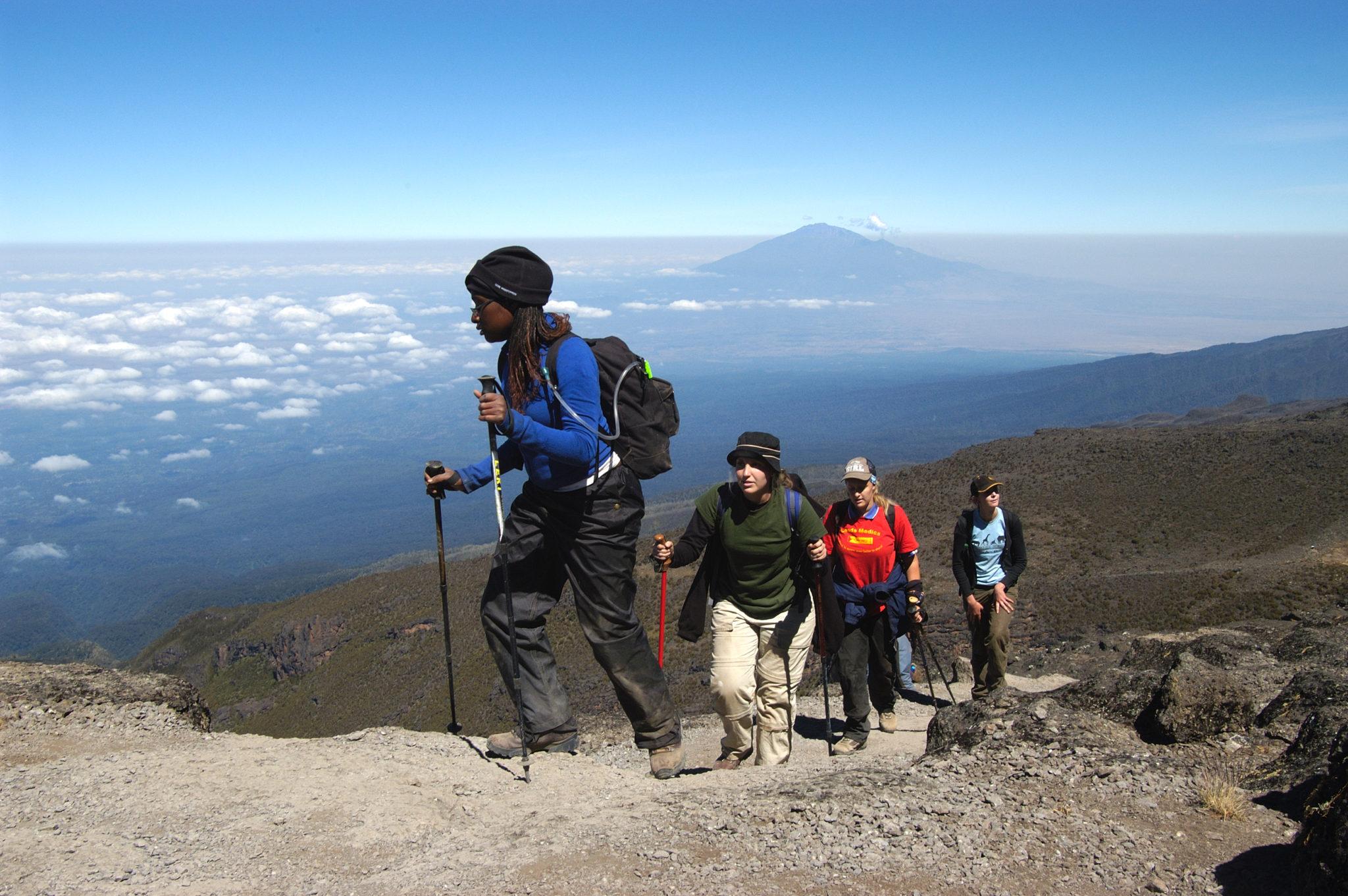 Kilimanjaro Trek Rongai Route: Trekking in Tanzania