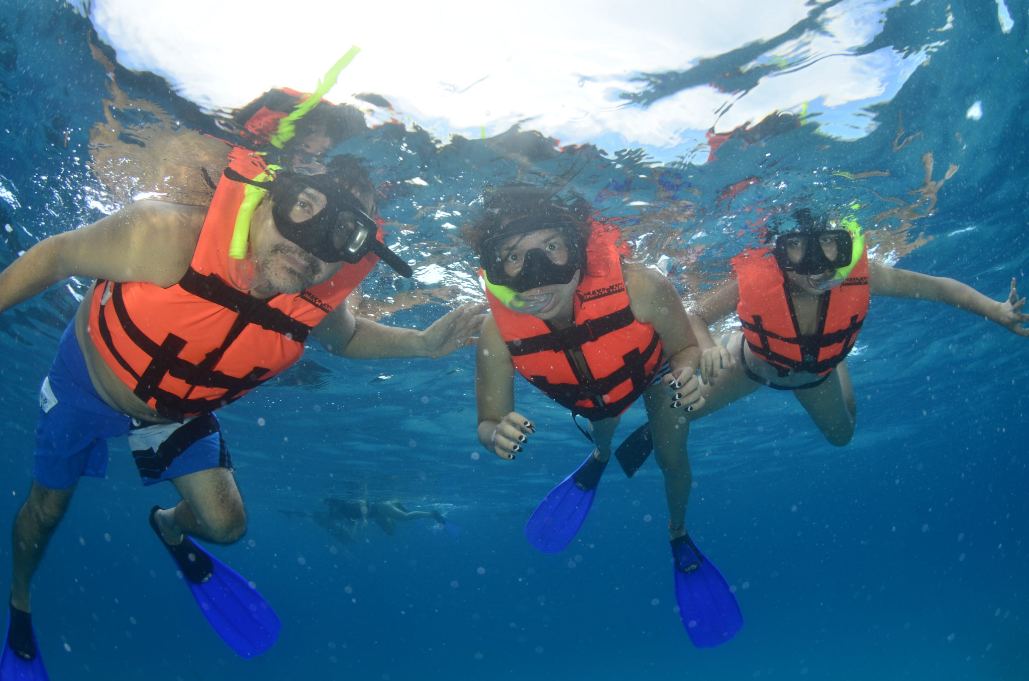 Cancun snorkelling experience in Mexico