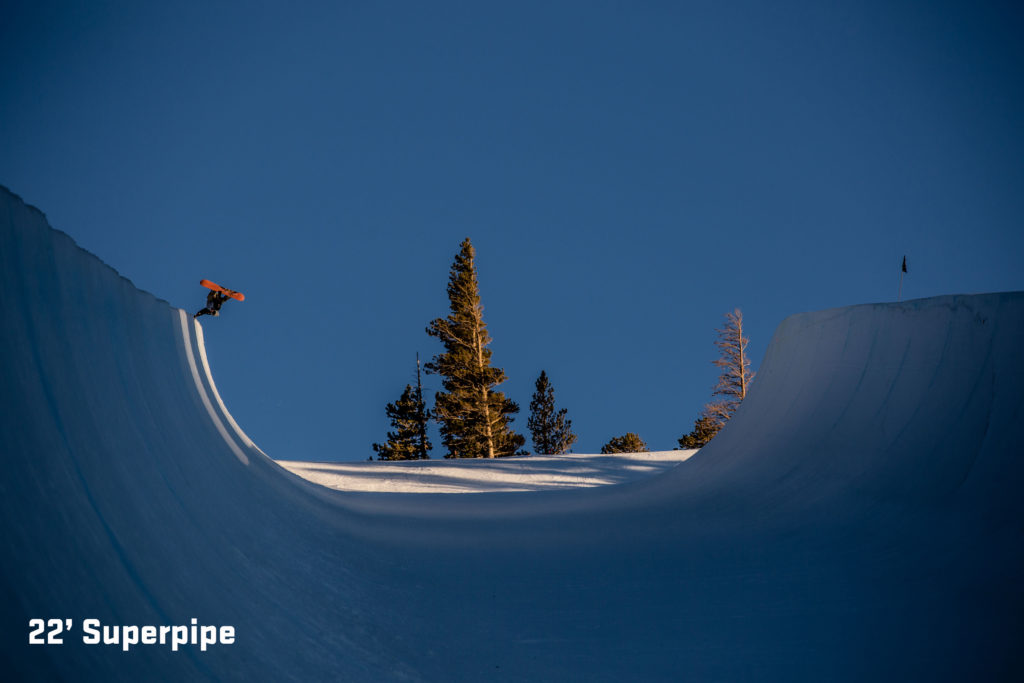 best US adventures and best USA extreme sports unbound terrain park image courtesy of Mammoth Mountain
