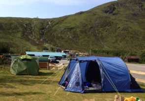 Camping at Glencoe Mountain Resort