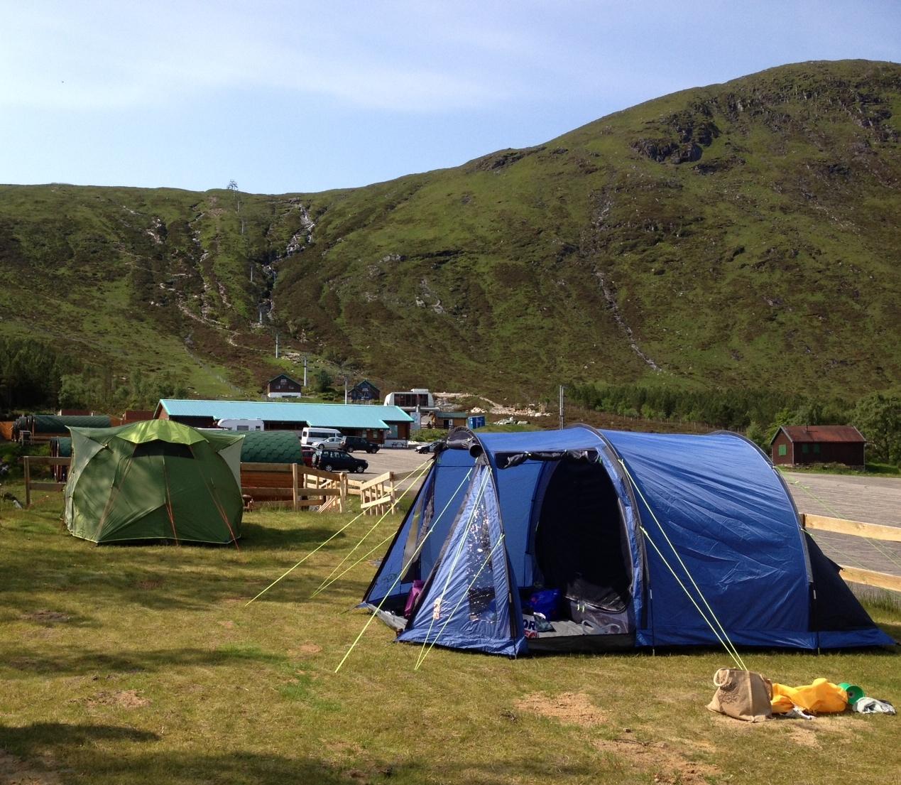 Year round Scottish camping at Glencoe Mountain Resort