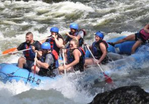 1/2 day Kennebec River white water rafting experience in Maine