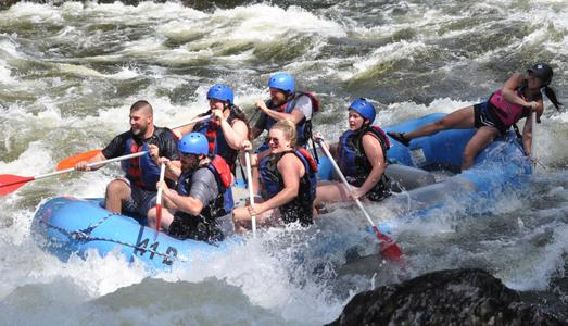 Kennebec River White Water Rafting Day Trip in Maine