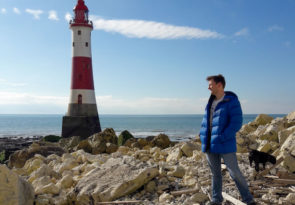 Helly Hansen Verglas Icefall review at Beachy Head UK