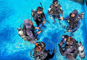 Learn to dive in Denpasar PADI Open Water Diver Course in Bali with Bali Fun divers