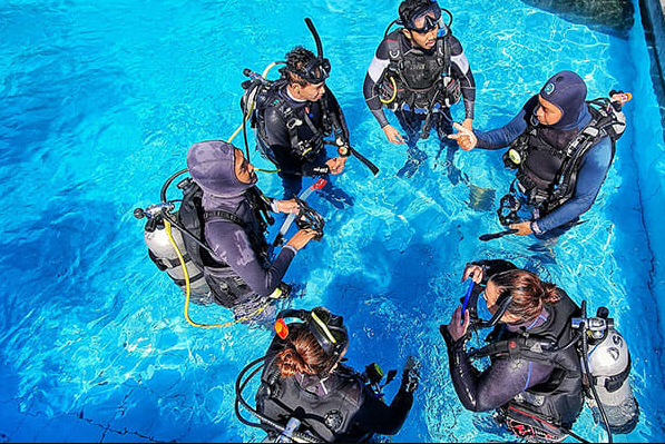 Learn to dive in Denpasar: PADI Open Water Diver Course in Bali