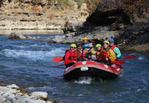 River Raft, Hike and Camp Albania Trip