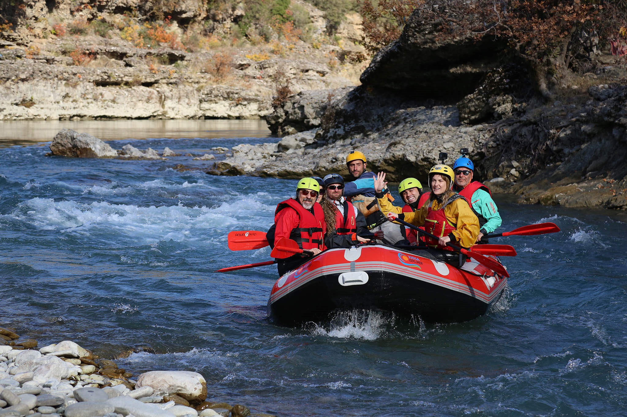 Rafting, Hiking, Snorkelling Grand Tour of Albania