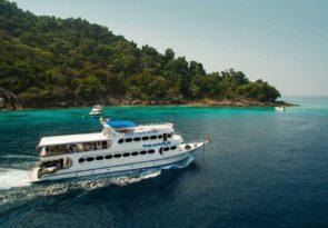 Similan Liveaboard dive holiday Andaman scuba diving in Thailand