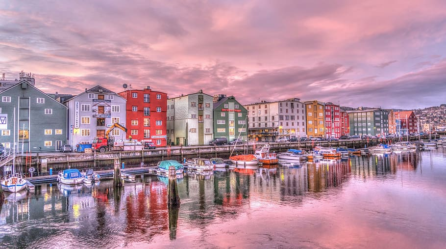 Trondheim Norway one of the top 3 Destinations for Luxury Learn to Sail Holidays in Europe pixabay royalty free image