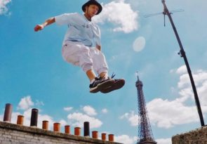 best destinations for parkour enthusiasts Image of Benji Cave in Paris courtesy of Storror