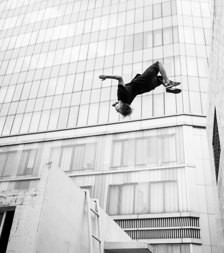 best parkour destinations for Image of Sacha Powell courtesy of Storror