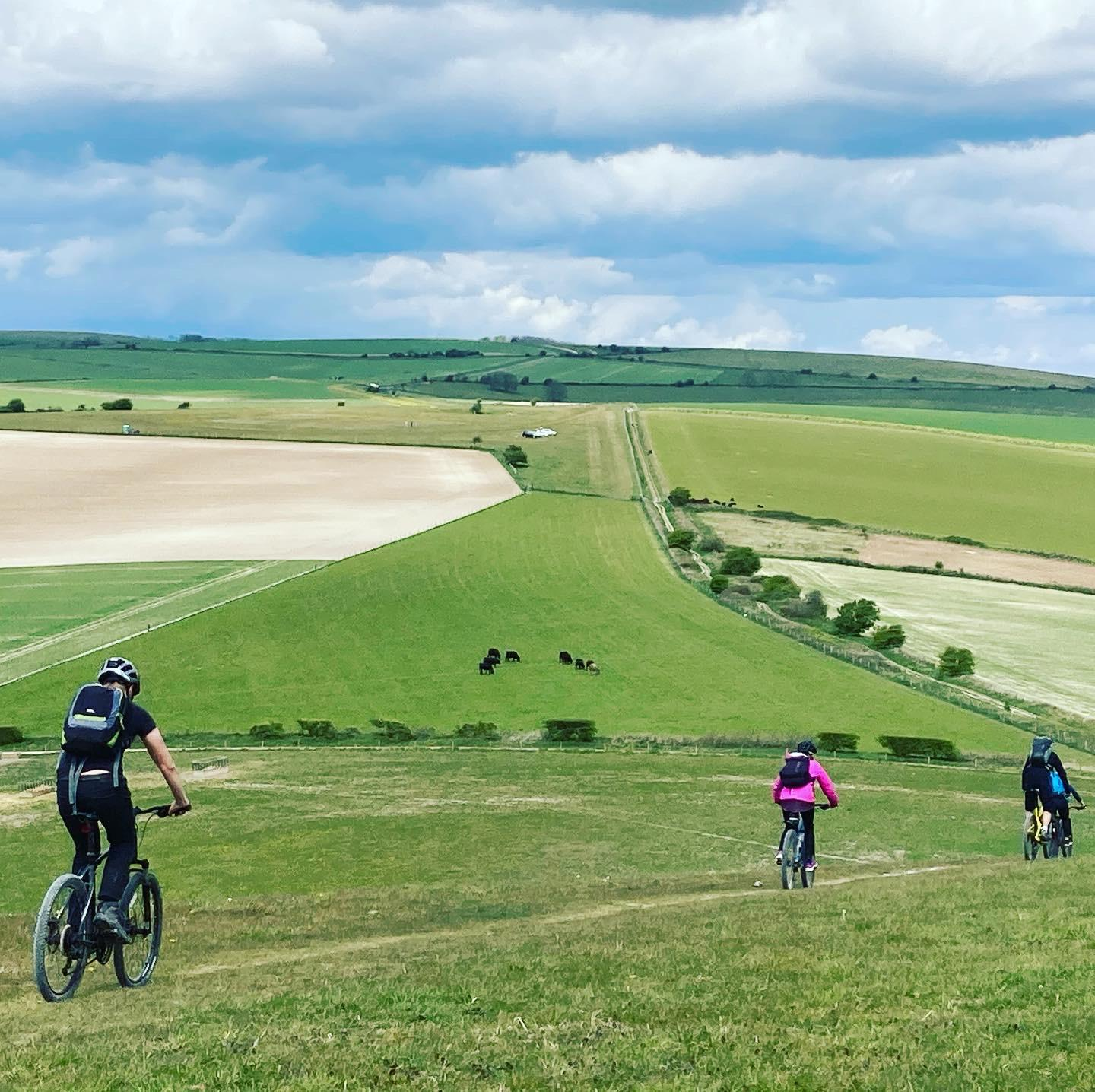 UK Mountain Bike Trail Leader course in West Sussex