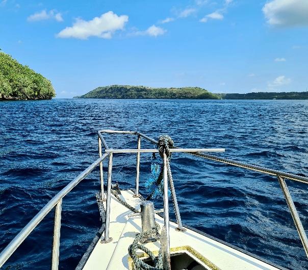 Boat scuba diving in Nusa Penida Photo by Cara Rees