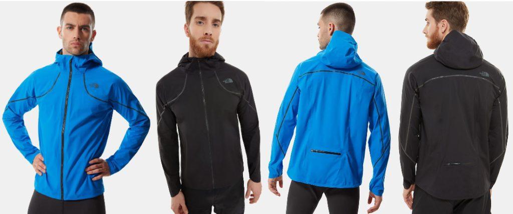 North Face Flight Series Futurelight packable running jacket
