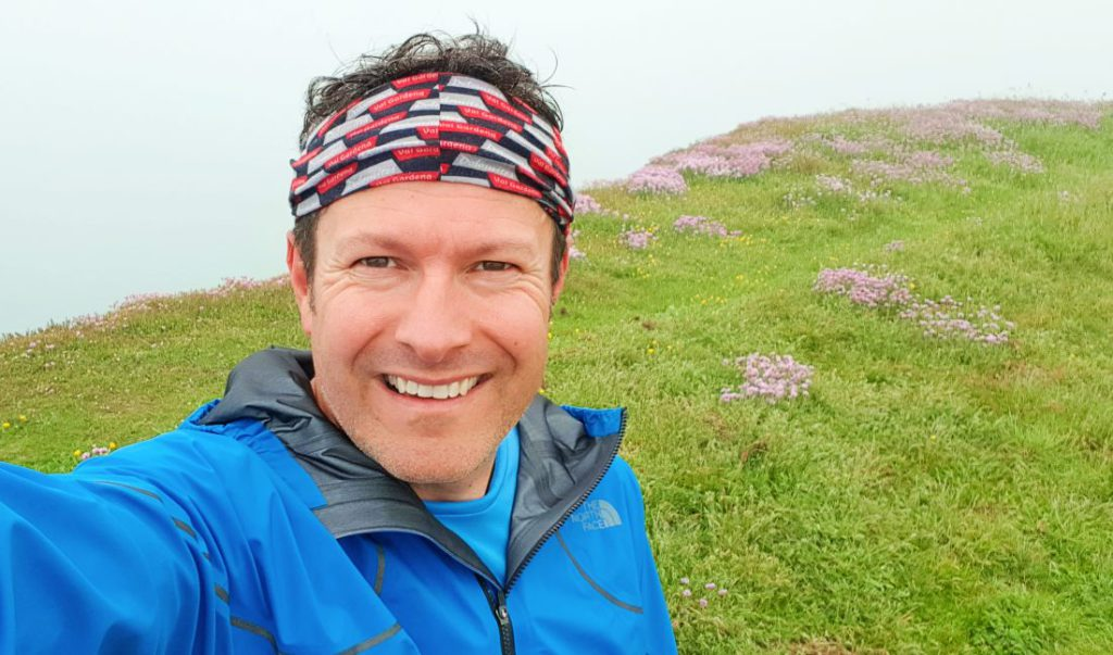 North Face Flight Series jacket review on foggy day in Newhaven Futurelight running waterproof