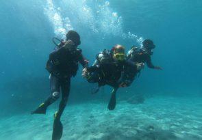 Nusa Penida Open Water scuba diving course in Indonesia
