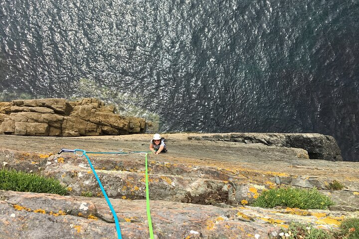North Wales rock climbing course in Snowdonia