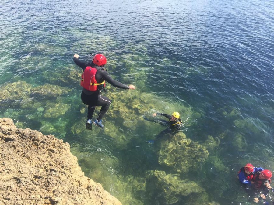 South Shields Coasteering Experience in the North East