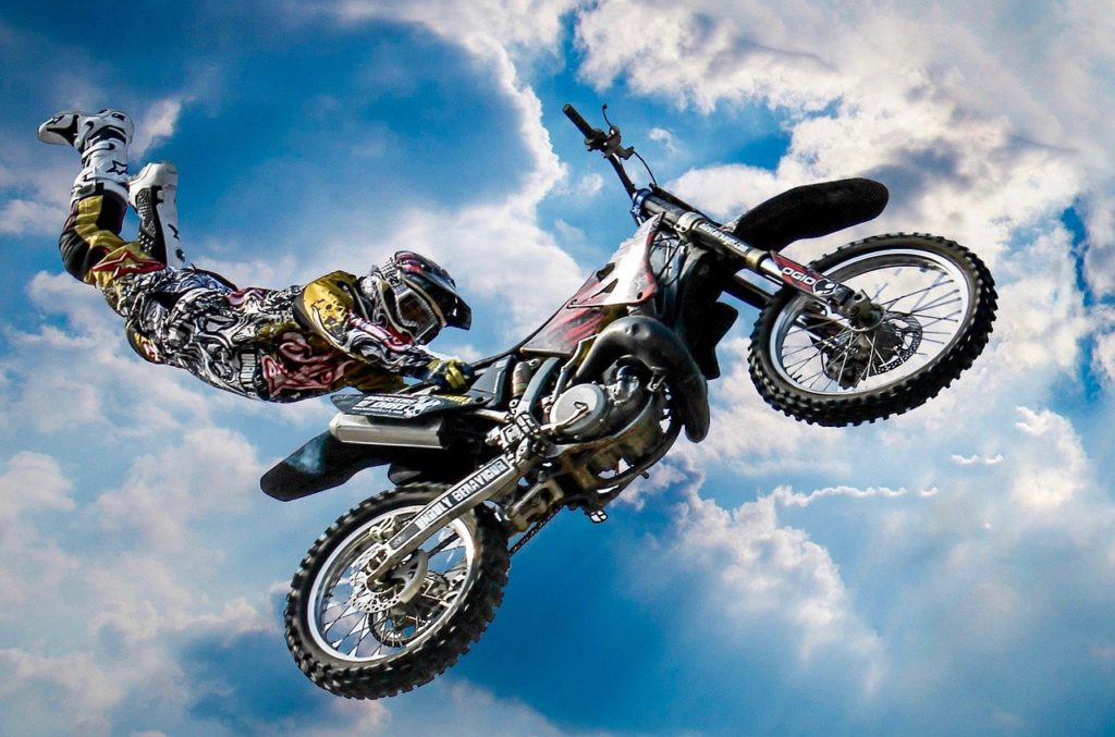 motocross - how NLP is used in sports performance - royalty free image from Pixabay