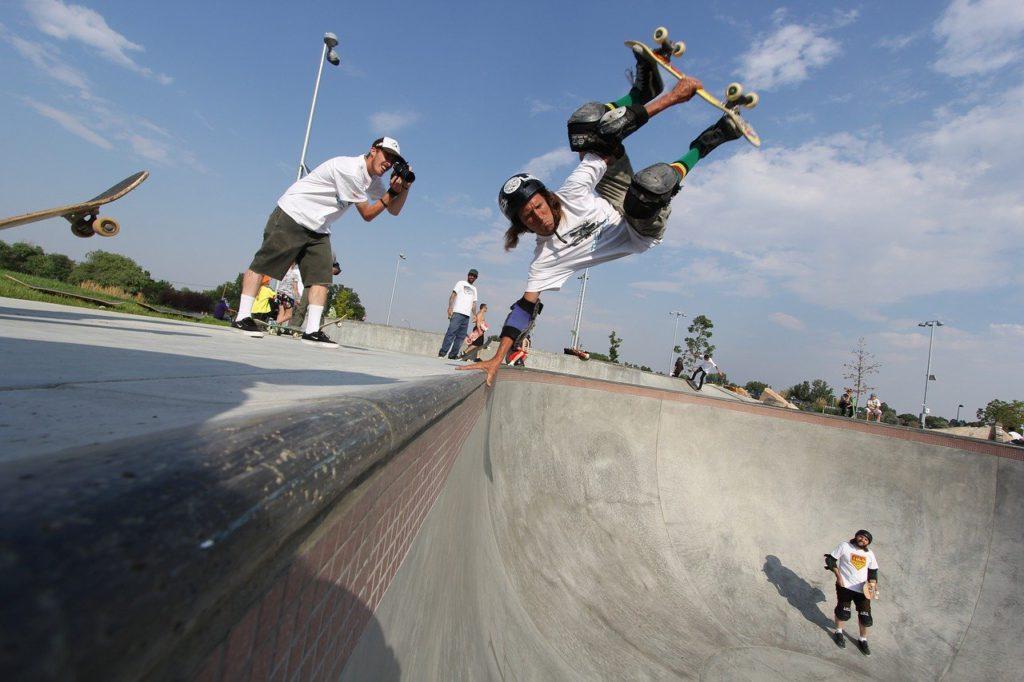 skateboarder - skateboarding - skatepark using Neuro Linguistic Programming royalty free pxhere image