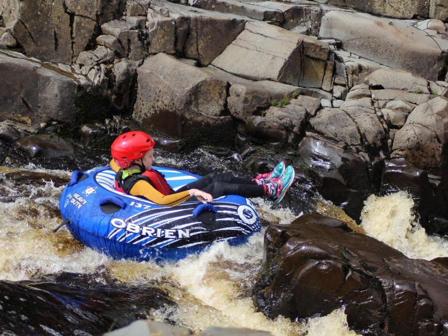 North East White Water Tubing Experience on River Tees