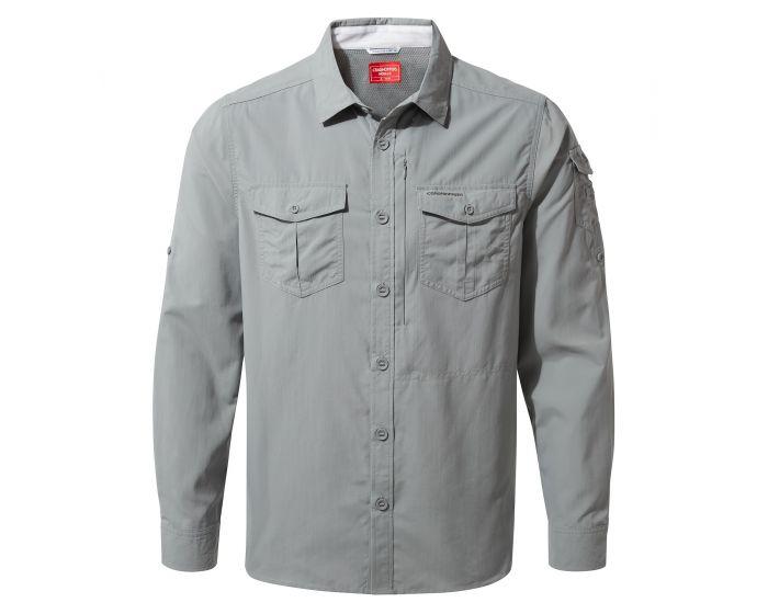 Grey Craghoppers Nosilife shirt