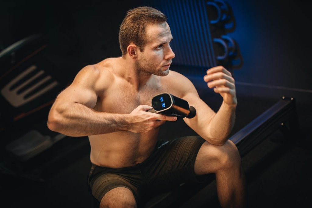 Exogun Portable percussive therapy, massage and recovery