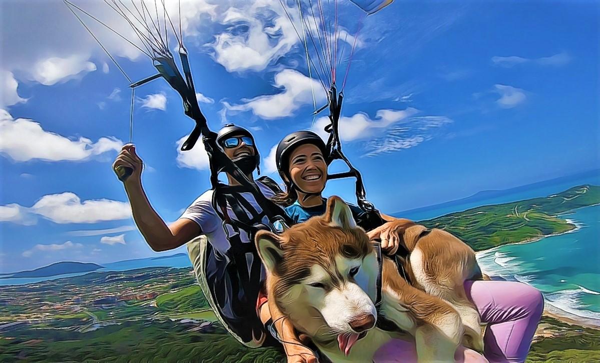 Tandem Flight: Beginner Phuket paragliding experience in Thailand