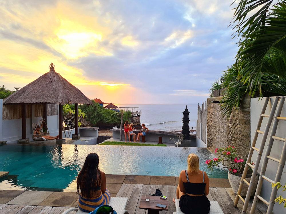 Sunset in Nusa Ceningan Indonesia