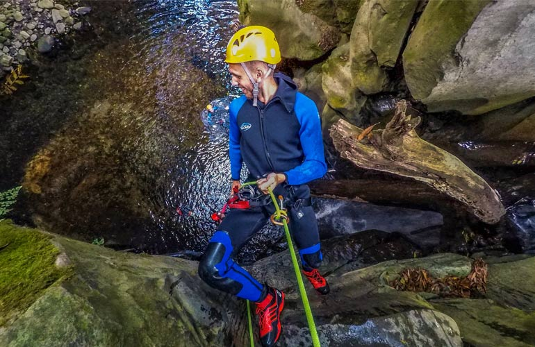 3 hour Azores Canyoning Experience
