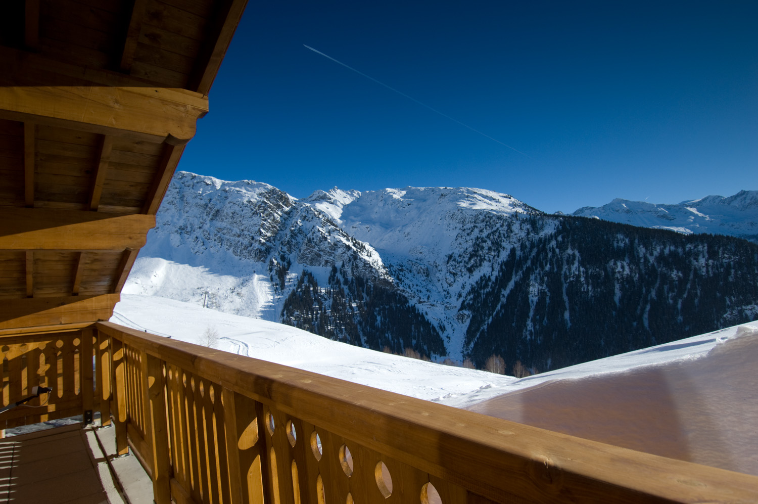 Penthouse Chalet: French skiing accommodation in La Rosiere
