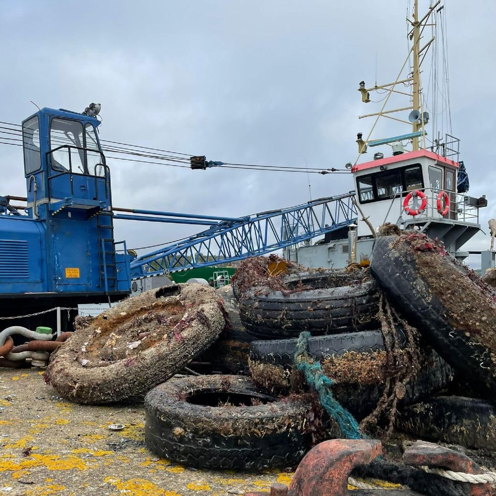 1000 tyre project in Plymouth image from dewerstone
