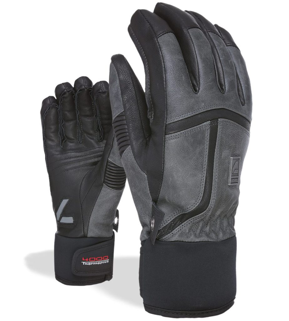 A pair of Level off piste leather anthracite is What to buy a skier this winter