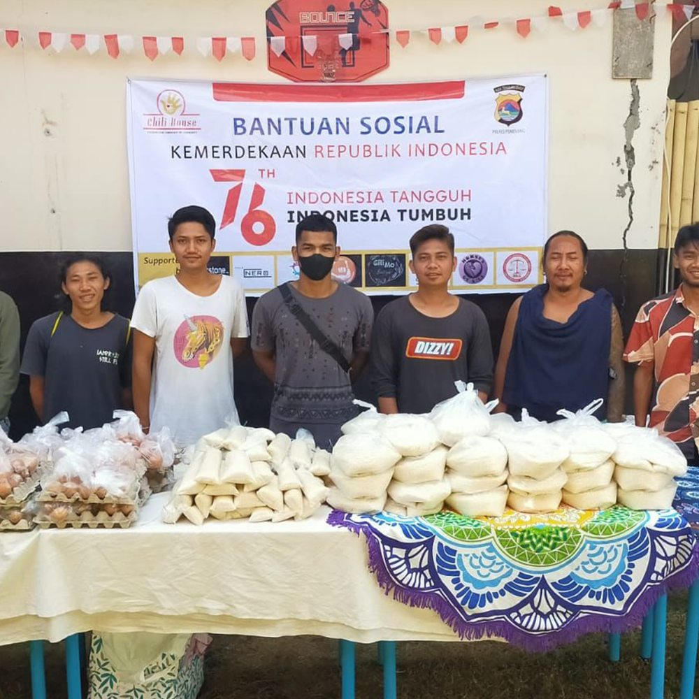 Indonesia food parcels Interview with Rory Atton from dewerstone