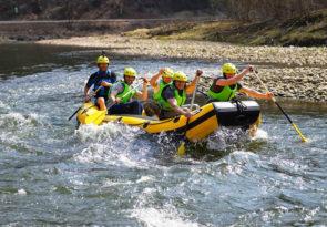 Rafting in Slovakia in the Pieniny National Park