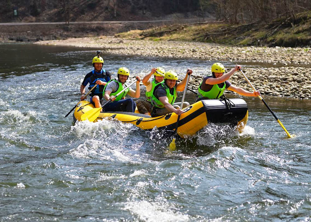 Rafting Adventure in Slovakia on the Bela River