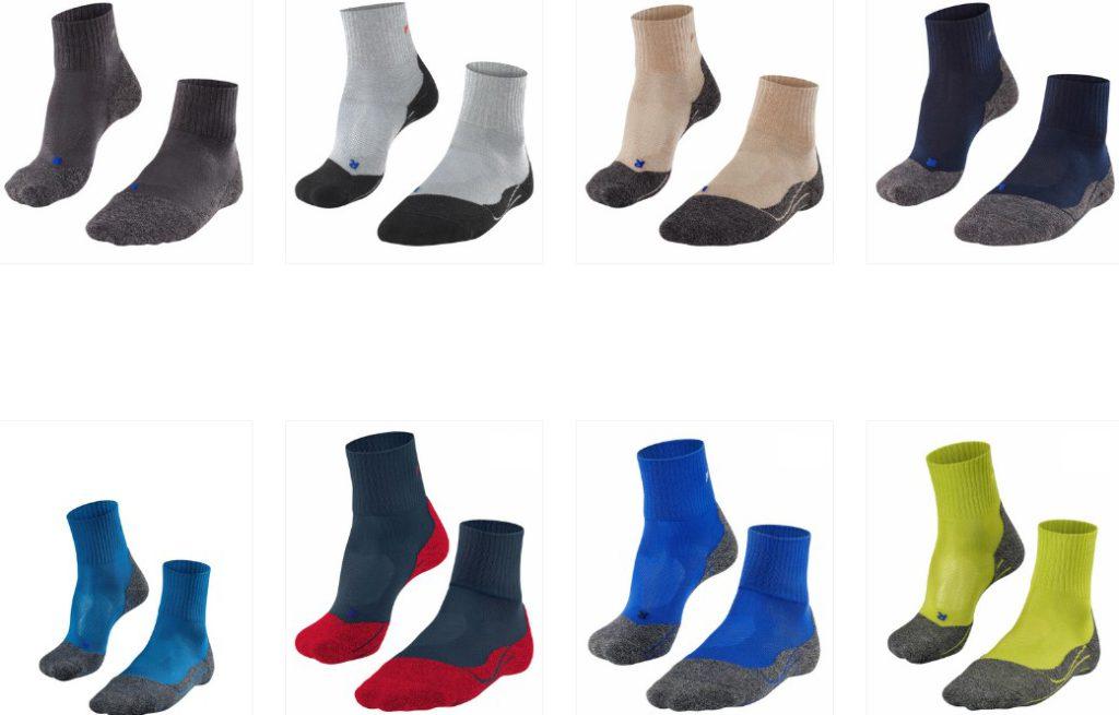 Review of Falke tk2 socks for trekking
