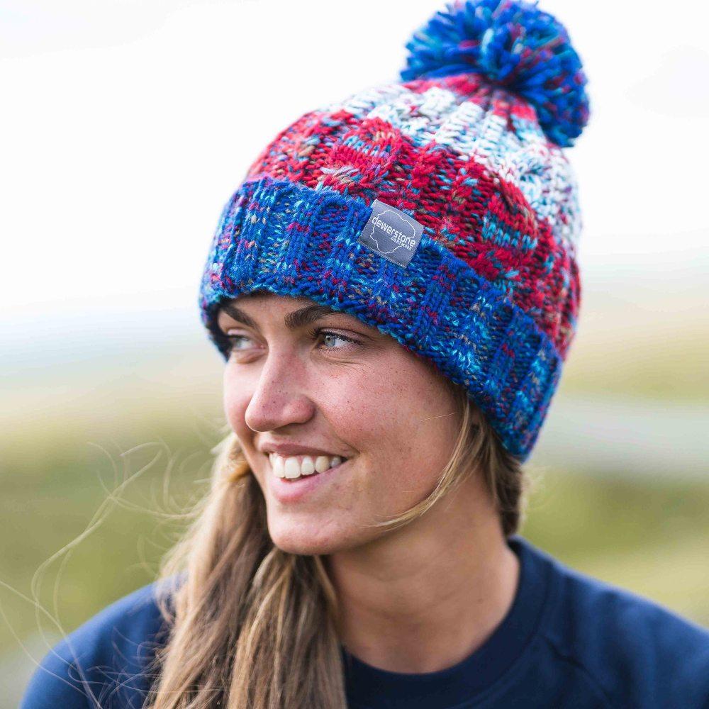 Ultimate skiers Christmas list 2021_ dewerstone chunky knitted beanie strike beanie