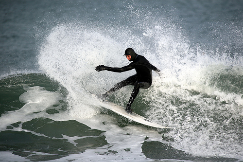 Surfing in Iceland Flickr CC image by dalli58