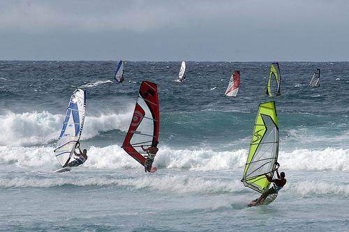 Windsurfing Spots, US, Windusurfing, Windsurfing Holidays, Susquehanna River, Pennsylvania, San Francisco Bay, California, Merritt Island, Florida, Lake Michigan, Illinois, Maui, Hawaii, South Padre Island, Texas