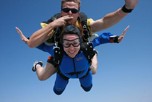 tandem skydiving in Sydney