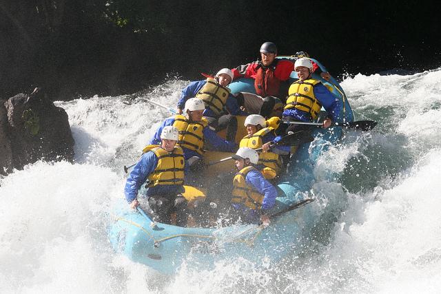 Rafting in Europe